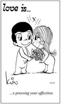 Любовь это  выражать свои чувства