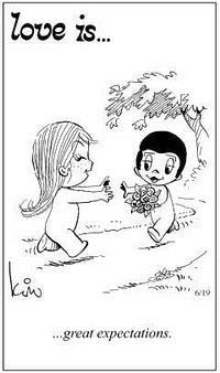 Любовь это  большие надежды