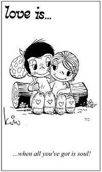 Любовь это  когда ничего не нужно кроме любви