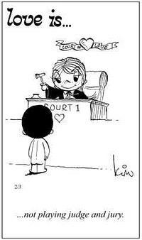 Любовь это  не игра суда и присяжных