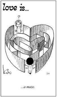 Любовь это  лабиринт