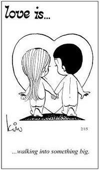 Любовь это  путешествие к чему-то большому