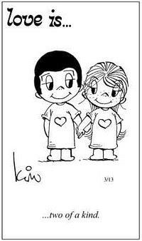 Любовь это  два в одном