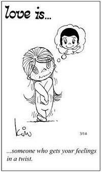 Любовь это  тот, кто влияет на Ваши чувства