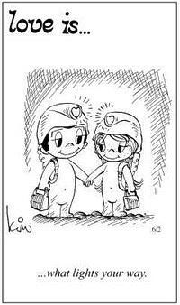 Любовь это  свет на вашем пути