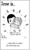 примеры картинок: Любовь это... когда жизнь становится лучше от того, что узнал тебя