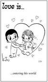 примеры картинок: Любовь это... войти в его мир