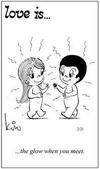 примеры картинок: Любовь это... светиться от счастья при встрече