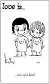 примеры картинок: Любовь это... два в одном