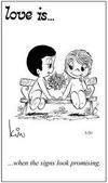 примеры картинок: Любовь это... многообещающие знаки