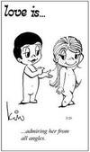 примеры картинок: Любовь это...восхищаться ею как ангелом