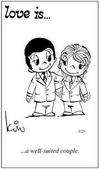 примеры картинок: Любовь это...хорошо одетая пара