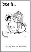 примеры картинок: Любовь это... видеть его во всем