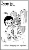 примеры картинок: Любовь это... всегда быть вместе