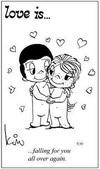 примеры картинок: Любовь это... забывать обо всем, когда рядом с тобой