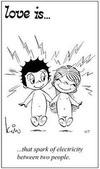 примеры картинок: Любовь это... разряд электричества между вами