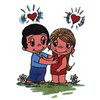 примеры картинок: Love is...feeling each others heart beat.