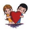 примеры картинок: Love is...two people sharing one heart.