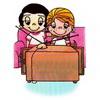 примеры картинок: Love is...watching TV together.