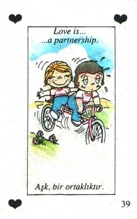 Любовь это  сотрудничество
