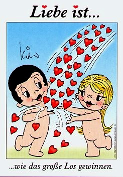 Liebe Ist wie das große Los gewinnen