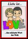 примеры картинок: Liebe Ist...das schönste Wort der Welt