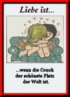примеры картинок: Liebe Ist...wenn die Couch der schönste Platz der Welt ist