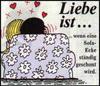 примеры картинок: Liebe Ist...wenn eine Sofa-Ecke ständig geschont wird