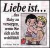 примеры картинок: Liebe Ist...das Baby zu versorgen, wenn Sie sich nicht wohlfühlt