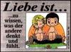 примеры картинок: Liebe Ist...zu wissen, was der andere denkt und fühlt