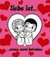 примеры картинок: Liebe Ist...wenn zwei heiraten